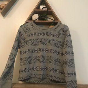 holister cropped sweatshirt